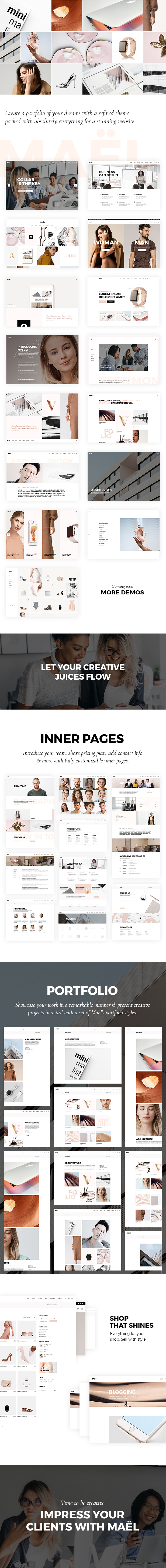 Maël - Modern Creative Agency Theme - 1